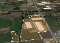 The project is planned for three warehouses with almost 1.9 million square feet.(Stream Realty)