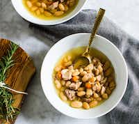 Instant Pot Chicken White Bean Rosemary Soup (Rebecca White/Special Contributor)