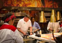 Gordon Ramsay now operates five restaurants at Caesars properties in Las Vegas, including the new Hell's Kitchen.(Michael Hiller/Special Contributor)