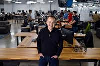 Varidesk CEO Jason McCann began working on a standing desk prototype after his business partner had back pain. (Ben Torres/Special Contributor)