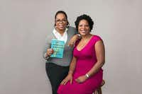 Oprah Winfrey with Tayari Jones, author of <i>An American Marriage</i>.&nbsp;&nbsp;(Victoria Will/Harpo, Inc.)