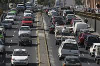 Mexico City wasn't even listed as one of the most congested cities in North America. That's because the organization that studies traffic lumped it in with South America.(Sarah Meghan Lee)