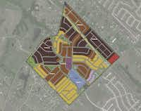 Overland Grove's first phase will have more than 300 houses priced from $275,000.(Wynne/Jackson)