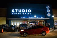 Studio Movie Grill opened last January at Lincoln Square in Arlington.(Ashley Landis/Staff Photographer)