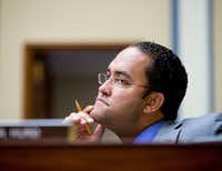 Rep. Will Hurd, R-Texas, questioned how someone could see the North American Free Trade Agreement as a bad deal. (Andrew Harnik/The Associated Press<br>)