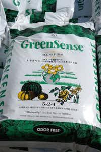GreenSense all-purpose fertilizer(Howard Garrett/Special Contributor)