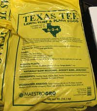 Texas Tee lawn, turf and plant food(Howard Garrett/Special Contributor)