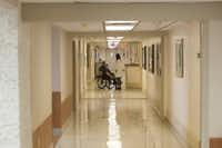 The medical surgical floor of the Veterans Administration Medical Center in Dallas.(Rex C. Curry/Special Contributor)