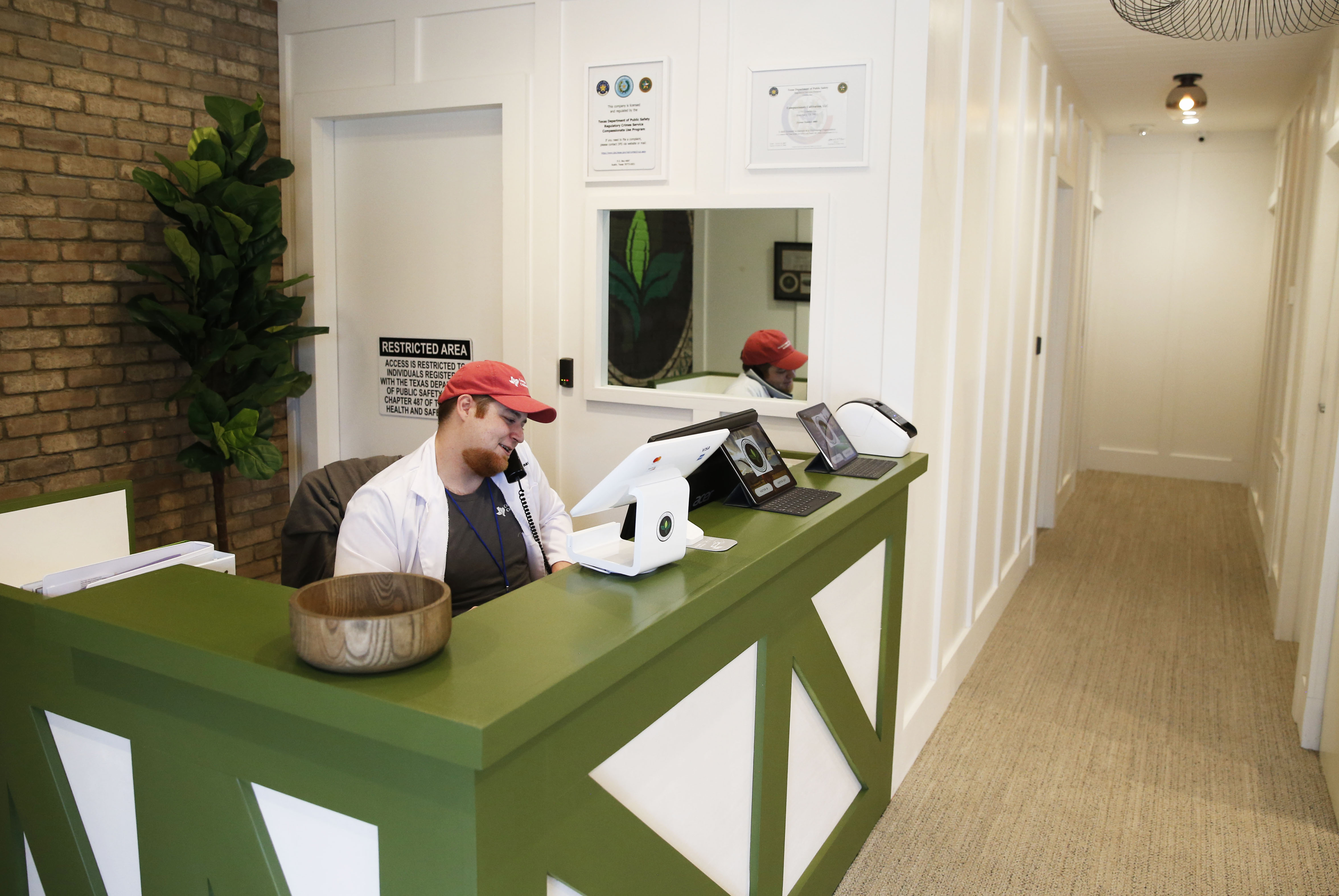 Texas' first cannabis dispensary has opened near Austin, but