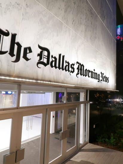 grant moise to become eighth publisher of the dallas morning news