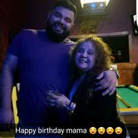 Rene Gamez and his mother, Judy Loera(Facebook)