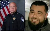 Officer David Sherrard was a 13-year veteran of the Richardson Police Department. Rene Gamez had grown up in North Texas.