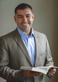 Miguel Suazo, Democratic primary candidate for state land commissioner.