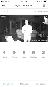 "<p>Th<span style=""font-size: 1em; background-color: transparent;"">e night vision aspect of the camera catches The Watchdog.</span></p>"