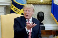 """President Donald Trump reportedly has floated the idea in private of raising the gasoline tax.(<p><span style=""""font-size: 1em; background-color: transparent;"""">Olivier Douliery</span></p>/<p><span style=""""font-size: 1em; background-color: transparent;"""">Abaca Press</span><br></p><p></p>)"""