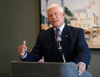 """<p>U.S. Rep. Pete Sessions,R-Dallas,<span style=""""font-size: 1em; background-color: transparent;"""">said he opposes increasing the gas tax because """"we've fought so hard to be able to get gas to where it is affordable.""""</span></p>(Jae S. Lee/Staff Photographer)"""