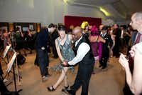 Dancers got into the Roaring '20s spirit at the 2017 Speakeasy party to benefit the Dallas Museum of Art.(Tamytha Cameron)