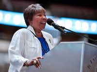"Rep. Eddie Bernice Johnson, D-Dallas, has said the odds of an infrastructure bill moving forward are ""slim at best."" (Ben Torres/Special Contributor)"