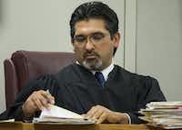 <p>Incumbent Judge RobertoCañas</p>(Smiley N. Pool/Staff Photographer)
