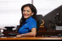 "<p> Nina <span style=""font-size: 1em; background-color: transparent;"">Vaca, chairman and CEO of Dallas-based Pinnacle Group, has been on the Hispanic Chamber's board, but is no longer a member, according to the Chamber's website. She is chairwoman of the Chamber's Foundation, its philanthropic arm.</span></p>(Nathan Hunsinger/Staff Photographer)"