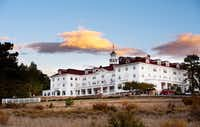 """The Stanley Hotel in Estes Park, Colo., is a favorite among fans of the movie """"The Shining"""". The movie wasn't shot here, but author Stephen King was inspired to write the novel that the movie is based on after a stay here.(AP)"""