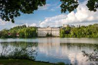 "This undated photo provided by Salzburg Tourism shows Schloss Leopoldskron in Salzburg, Austria, which was featured in ""The Sound of Music.""(Breitegger Günter/AP)"