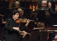 Violinist Augustin Hadelich performs with the Dallas Symphony Orchestra Oct. 13, 2016.   (Rex C. Curry/Special Contributor)(Rex C. Curry/Special Contributor)