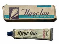 "<p>The tube of toothpaste Plano Rep. Sam Johnson smuggled out of the ""Hanoi Hilton"" following his release from captivity. (Smithsonian's National Museum of American History)</p>"