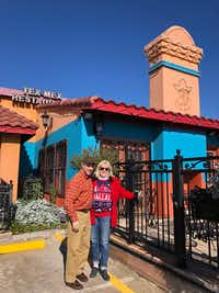 Randy and Paige Flink ate at Gonzalez Tex-Mex in Pleasant Grove on Dec. 23, 2017 during their retro tour of 41 restaurants that were around when they started dating in 1977.(Courtesy Paige Flink)