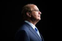 Larry Fink, founder and chief executive of the giant investment firm BlackRock(File Photo/The New York Times)