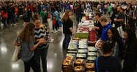Thousands of young book fans came out to the North Texas Teen Book Festival at the Irving Convention Center in Irving, Texas on Saturday, March 4, 2017. The fair featured free books, workshops and autograph sessions with authors.(Lawrence Jenkins/Special Contributor)
