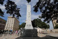 The San Antonio Cenotaph.(Kin Man Hui/San Antonio Express-News)