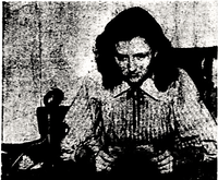 """Feb. 22, 1948: The Dallas Morning News ran this photo with the following caption: """"With Serene dignity, Judge Jerry Notley of Dallas' Juvenile Traffic Court considers the case of 11-year-old Robert Lamb, given a traffic ticket for for violation of the ban on """"double"""" bicycle riding. Robert's sentence as a first offender was to hear a member of the Dallas Junior Chamber of Commerce explain the dangers of overloading his bicycle."""""""