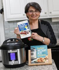 Urvashi Pitre of Keller has published two cookbooks and is working on more.(David Woo/Staff Photographer)