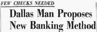 Headline from June 16, 1959, <i>Dallas Morning News</i> article