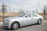The Rolls-Royce Phantom made a stop in Dallas. (Photo courtesy Rolls-Royce)