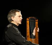 "Benjamin Bagby will perform the Anglo-Saxon epic <i>Beowulf </i>on a six-string medieval harp at 7:30 p.m. March 1, 2018 as part of the Nasher Soundings series.&nbsp;(Nasher Sculpture Center/<p><span style=""font-size: 1em; background-color: transparent;"">Susanna Drescher</span></p>)"