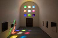 The interior, facing south, of Ellsworth Kelly's <i>Austin</i>(Kate Russell/Ellsworth Kelly Foundation)