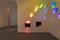 The interior, facing north, of Ellsworth Kelly's <i>Austin</i> (Kate Russell/Ellsworth Kelly Foundation)