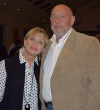 <p>Farris Wilks and his wife, JoAnn, are shown in a photo posted to the Facebook page of the Assembly of Yahweh, 7th Day church, in Rising Star, Texas, where Farris Wilks is pastor. (Assembly of Yahweh)</p>