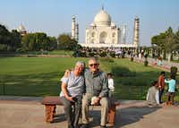 Bill and Betty Reed checked off the Taj Mahal on a bucket list trip to India.