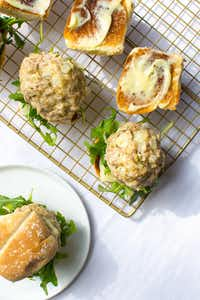 Instant Pot Rosemary Pork Meatball Sliders (Rebecca White/Special Contributor)