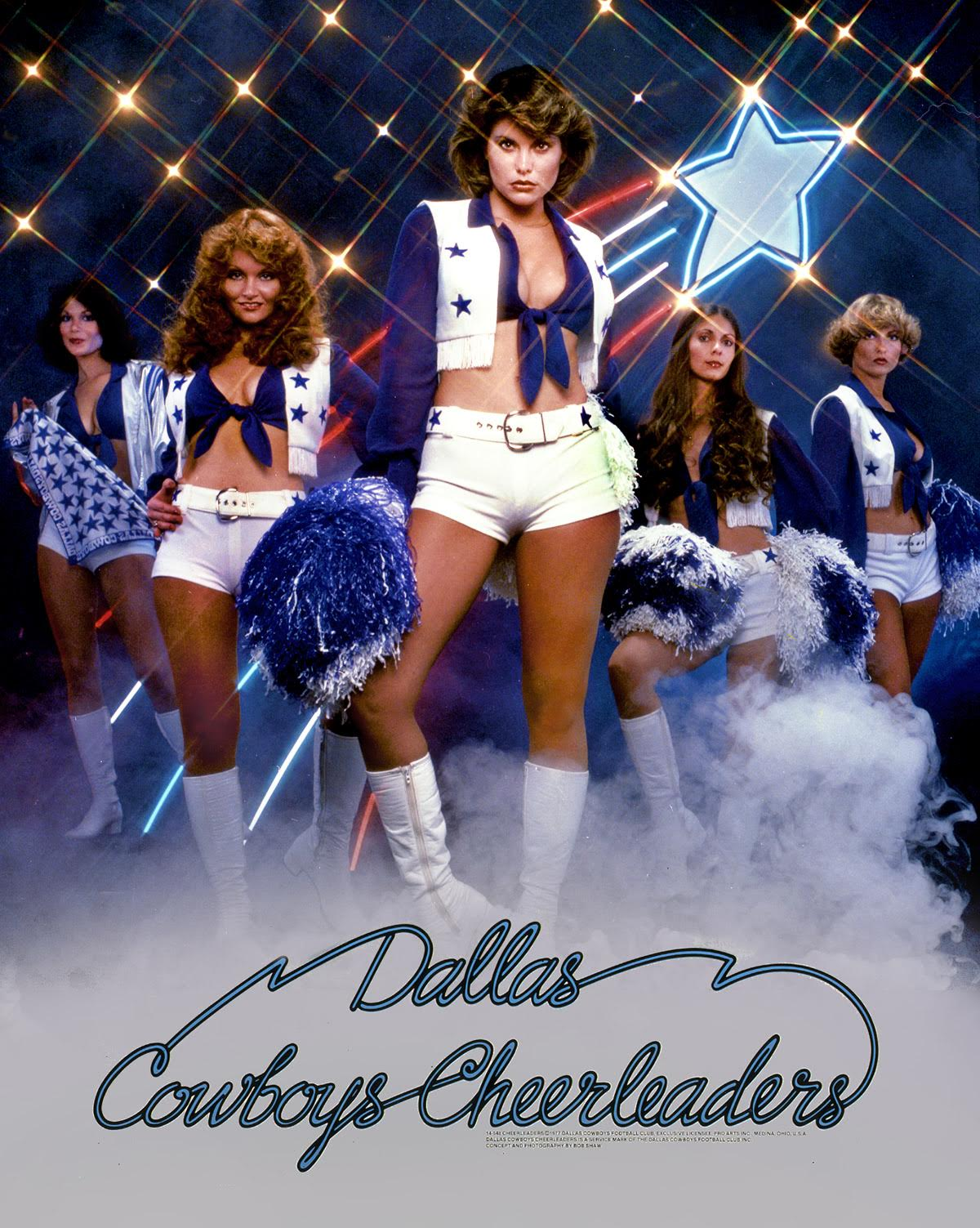 d7298f77 Iconic 1977 Dallas Cowboys Cheerleaders poster will hang in the ...