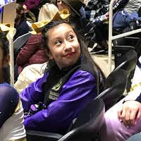 Linda Rogers, 12, died in February when her house exploded in northwest Dallas because of a natural gas leak. She was getting ready for school and a cheerleading competition later that da(Falcons Elite Cheer/Facebook)