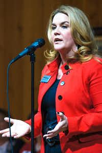 <p>Jenifer Sarver, one of three Republican women running to replace retiring San Antonio Rep. Lamar Smith, said she has planned to run for this seat for at least 15 years. </p>(Courtesy Jenifer Sarver)