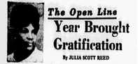 "<p><span style=""font-size: 1em; background-color: transparent;"">Dec. 25, 1968 edition of Julia Scott Reed's column ""The Open Line""</span></p>"