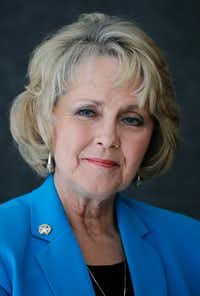 Rep. Cindy Burkett, R-Sunnyvale(Vernon Bryant/Staff Photographer)