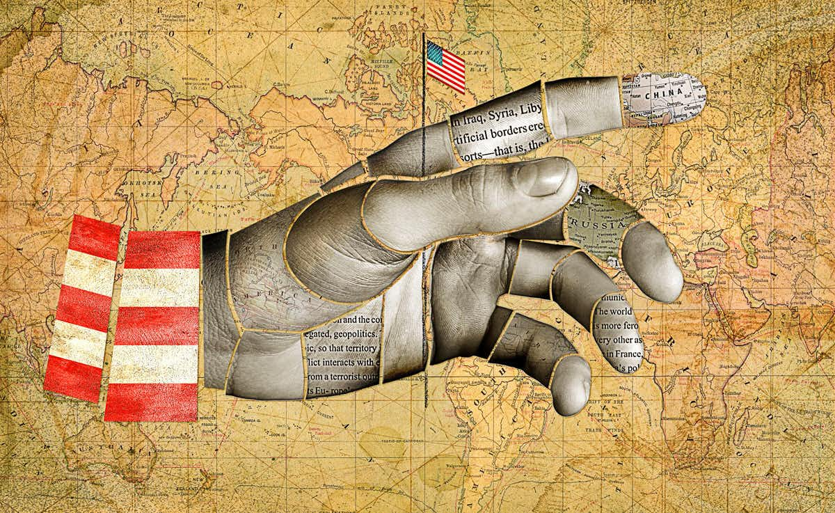 Without American imperialism and its evils, the world faces anarchy