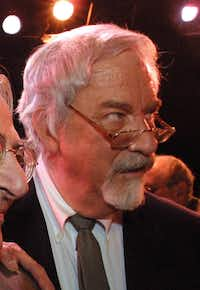 Composer Harvey Schmidt attended the final performance of <i>The Fantasticks</i>, at the Sullivan Street Playhouse in New York on Jan. 13, 2002.(The Associated Press)