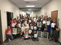 <p>Approximately 40 parents and students showed up at Tuesday night's school board meeting to speak in support of Stacy Bailey</p>(Florence Salazar Bruner/<p><br></p>)